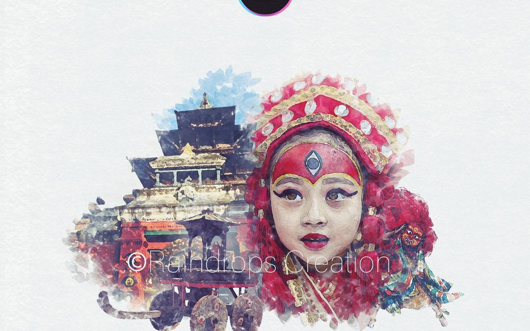 Indra Jatra Graphic design